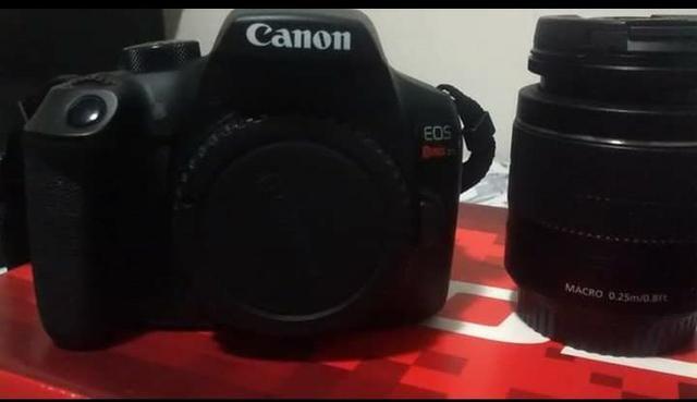 Câmera canon t6 super nova