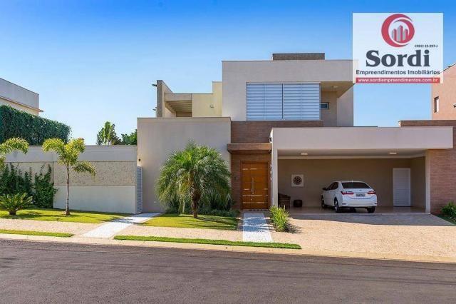 Sobrado à venda, 434 m² por r$ 1.550.000,00 - jardim das acácias - cravinhos/sp