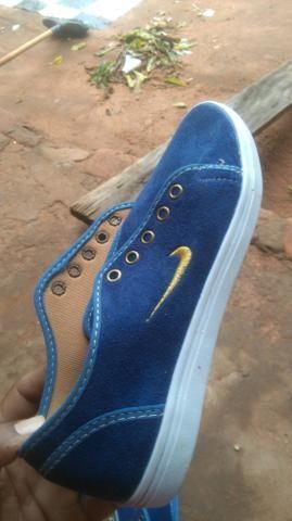2f68430fffa Vendo um tênis   azul da marca Nike