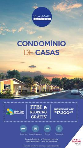 //Vila Smart Campo Belo/ casas com 2 quartos em Condomínio fechado