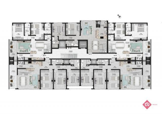 Apartamento à venda com 3 dormitórios em Praia da cal, Torres cod:1497 - Foto 6