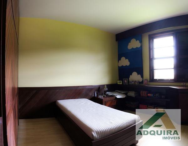 Casa sobrado com 4 quartos - Bairro Estrela em Ponta Grossa - Foto 4