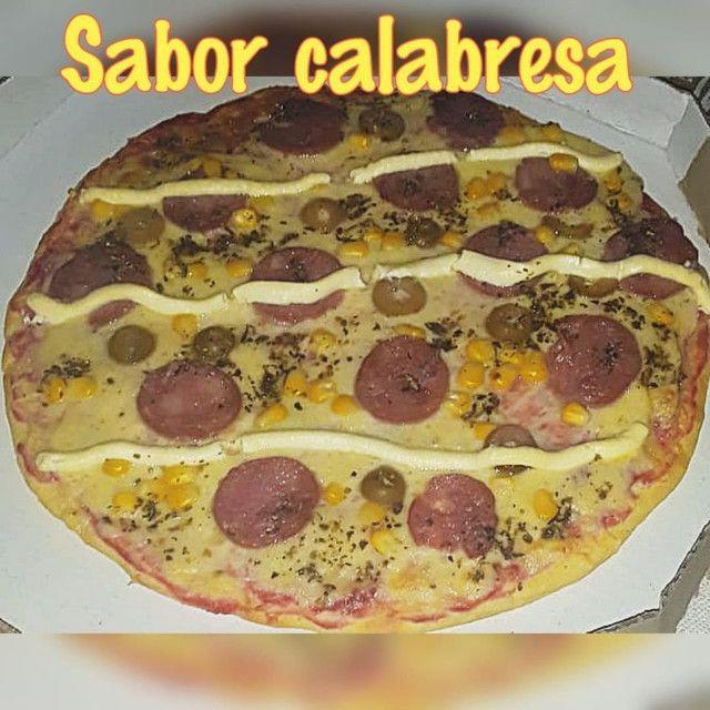 Promoção duas pizzas g grande apenas 40reais