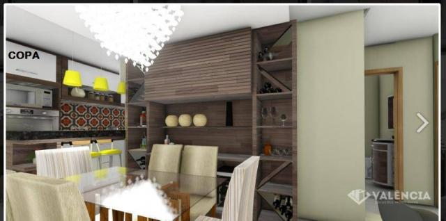 Apartamento com 1 dormitórios à venda, 39 m² por R$ 175.000,00 - São Cristóvão - Cascavel/ - Foto 3