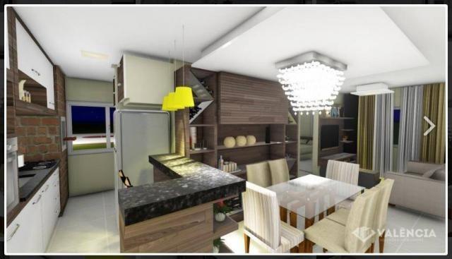 Apartamento com 1 dormitórios à venda, 39 m² por R$ 175.000,00 - São Cristóvão - Cascavel/ - Foto 2