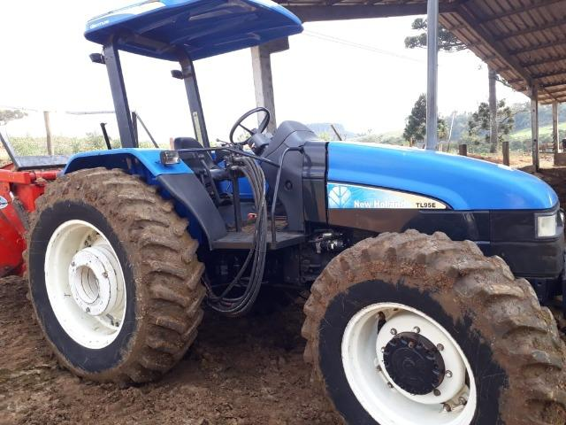 Trator New Holland Tl 95 - Foto 2