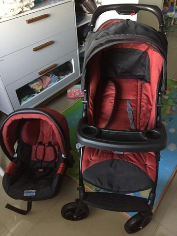 Burigotto Peg Perego Carrinho de bebê + bebê conforto