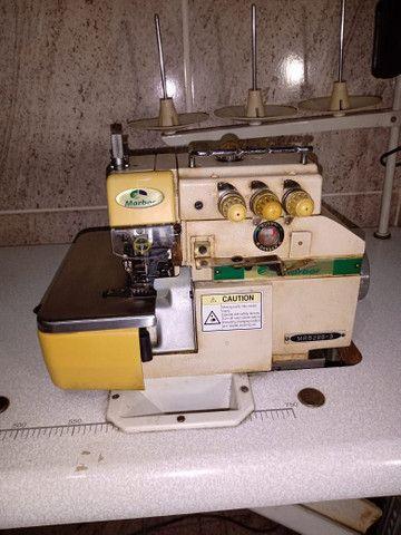 Máquina de costura Reta e Overlok