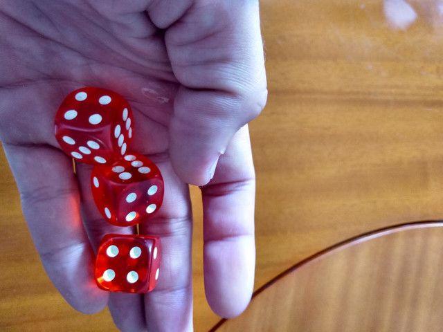 Dados profissionais para poker e outros jogos aceito cartão e trocas - Foto 5