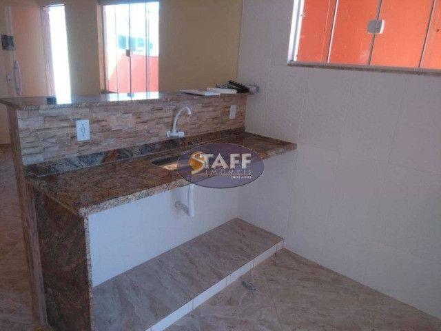 KA- Casa na Planta e com 2 quartos e suíte, em Condomínio, por R$ 100.000 - Unamar - Foto 3