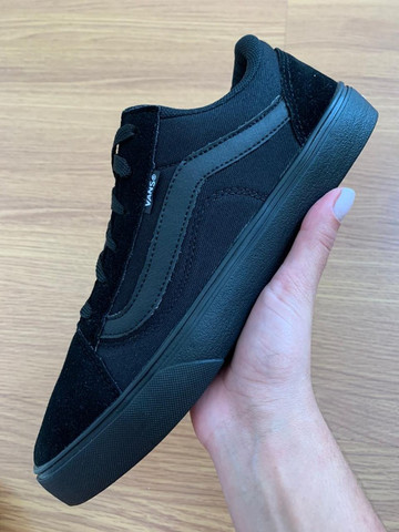 Vans old skool Preto - Foto 5