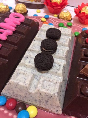 Barra de chocolate recheada - Foto 2