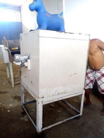 Vendo ou troco forno turbo a lenha de padaria - Foto 2