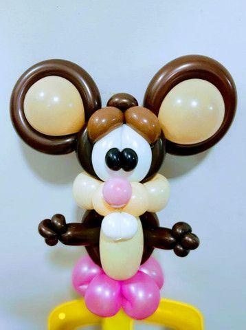 Esculturas com balões. - Foto 4