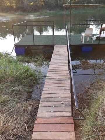 Salão de eventos rústico Beira de rio - Foto 16