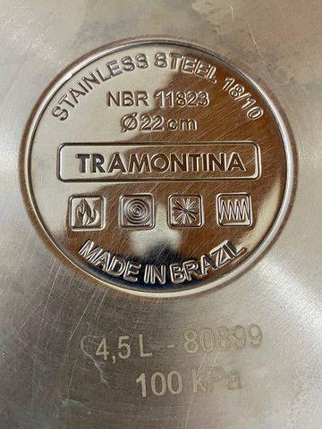 Panela de pressão Tramontina Solar 4,5L - Foto 3