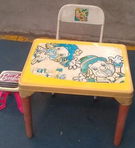 Vendo Mesa c/ cadeirinha - Foto 2