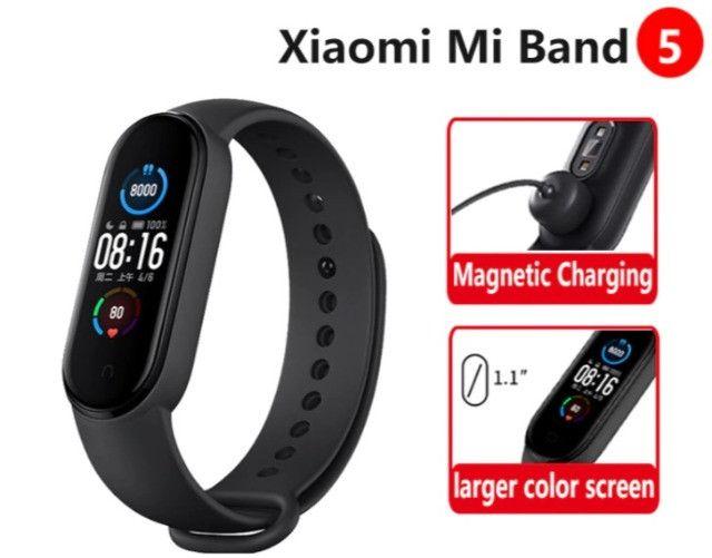 Relógio Smartwatch Pulseira Xiaomi Mi Band 5 - Original a pronta entrega