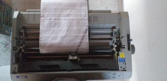 Impressora Matricial Epson FX 2190 - Foto 2