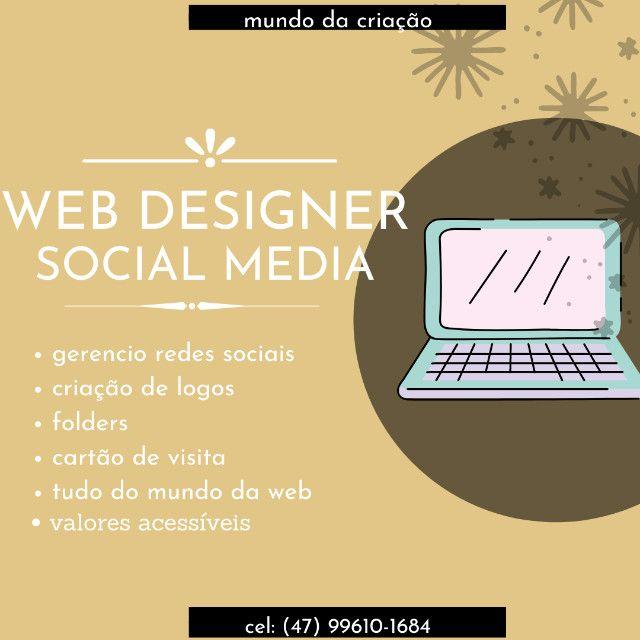 Web designer social mídia tudo que você precisa!