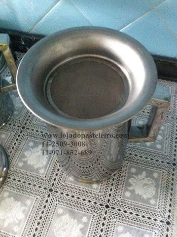 Jarra / Bule e Aparador Para caldo de Cana Profissional Inox - Foto 3