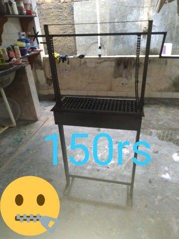 Vendo churrasquera120 reais - Foto 2