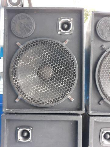 Caixa de som semi profissional - Foto 6