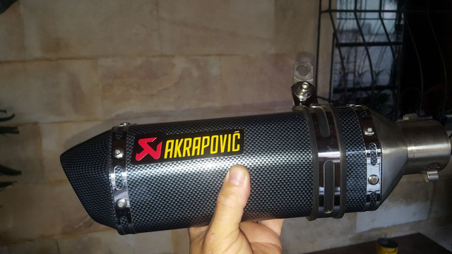 Escapamento esportivo akrapovic - Foto 3