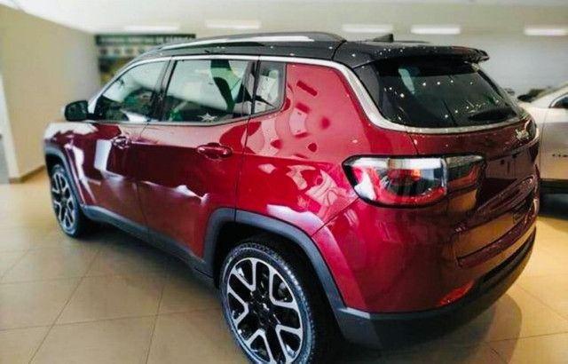Jeep Compass Limited Flex 2021 Okm A Pronta Entrega Melhor Preço da Baixada !!! - Foto 8