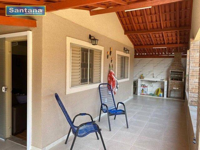 Chale com 4 dormitórios à venda, 160 m² por R$ 220.000 - Mansões das Águas Quentes - Calda - Foto 4