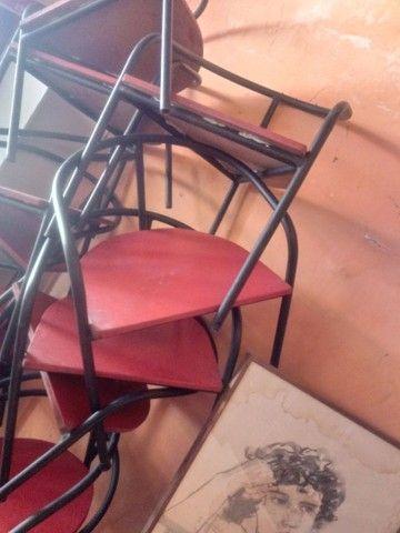 40 cadeiras de tubo industrial 7/8 - Foto 3