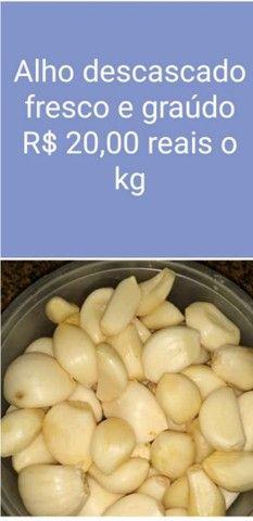 Alho graúdo a partir de 15 reais o kilo - Foto 4