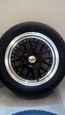 Roda aro 15 furação 4x108 Ford < Citron e Peageut Marca Krmai Modelo K50 - Foto 2