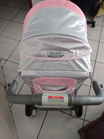 Carrinho de bebê Burigotto+bebê conforto