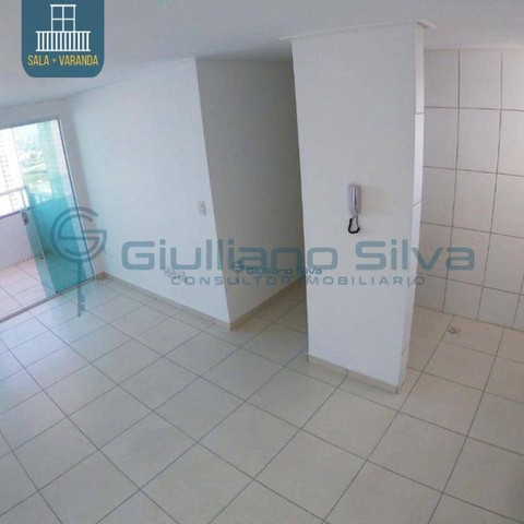 CÓD: 0016 - Apto, Novo, Bessa, 59 m², 2 Qts s/ 1 Suíte, Pisc. Elev