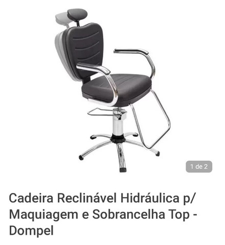 2 Cadeiras de cabeleireiro
