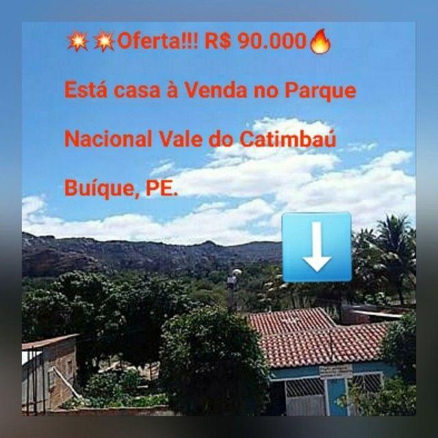 Casa a Venda ( No Parque Nacional Vale do Catimbau PE)