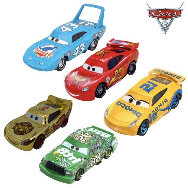 KIT com 5 Carros - Disney 1:55 - Foto 5