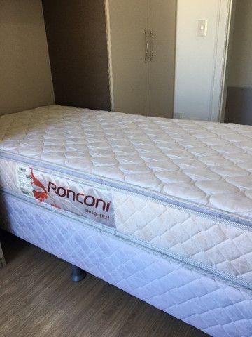 Cama Box Solteiro com Colchão Pillow - Foto 3