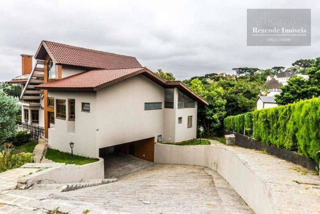 LF-CA0513-Casa com 4 dorm para alugar,472 m² por R$ 9.500/mês-São João-Curitiba/PR