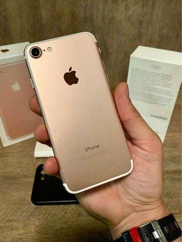 iPhone 7 128gb na Caixa - ACEITAMOS TROCAS - Foto 4