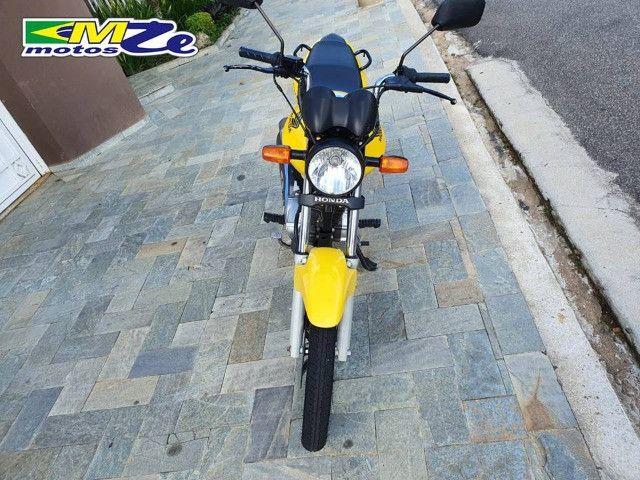 Honda CG 150 Fan ESDI 2013 Amarela com 41.000 km - Foto 12