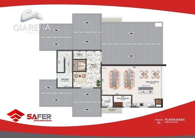 Apartamento com 3 dormitórios à venda, JARDIM GISELA, TOLEDO - PR - Foto 5