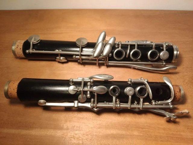 Clarinete Amati ACL311 Profisional - Sib 17 chaves Granadilla, Boquilha Vandoren 5RV - Foto 3