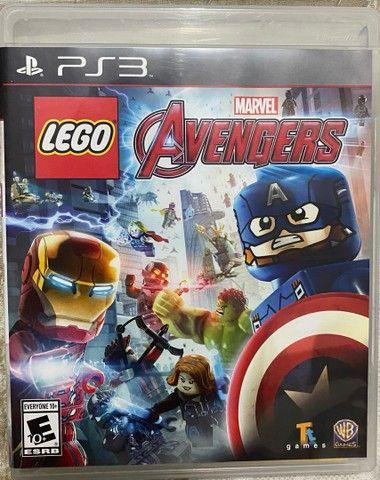 Lego Marvel Avengers Vingadores Ps3 Original Mídia Física
