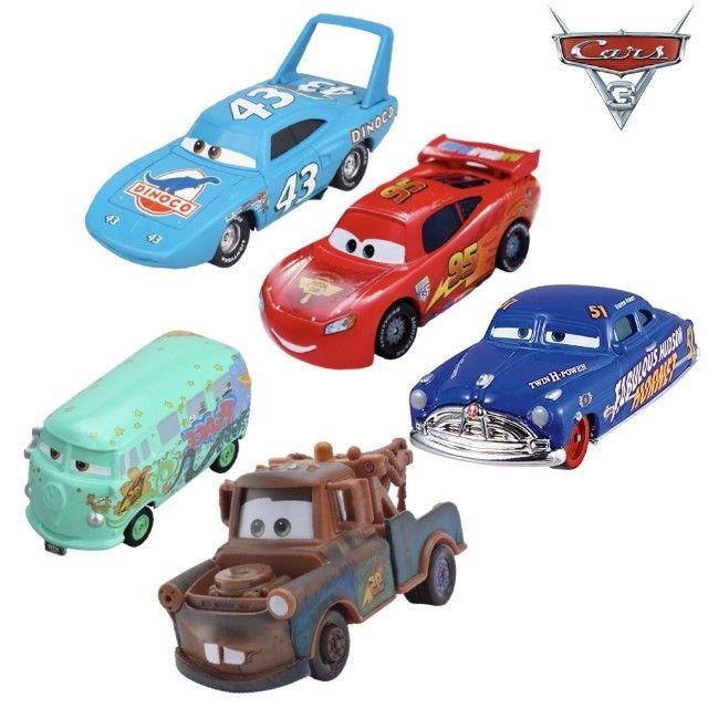 KIT com 5 Carros - Disney 1:55 - Foto 4