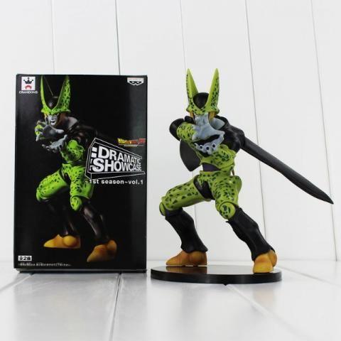 Boneco Dragon Ball Z Cell Action Figure Dbz Pronta Entrega