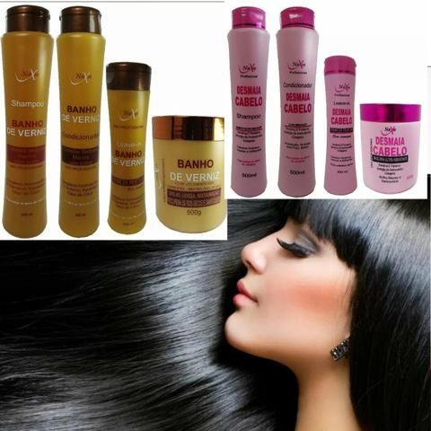 Ckits banho de verniz ou desmaia cabelo aproveite