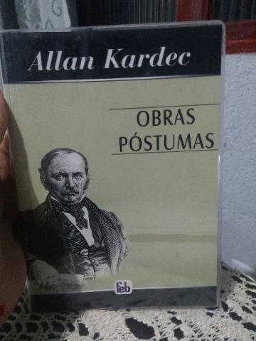 Livro - Óbras Póstumas - Allan Kardec