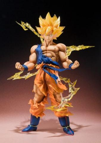 Goku Super Sayajin Dragon Ball - Bandai